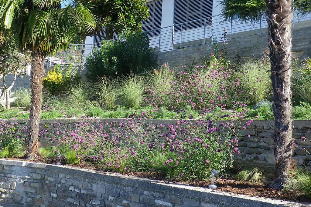 Giardino a terrazzamenti antonella pirovano architetto for Architettura giardini