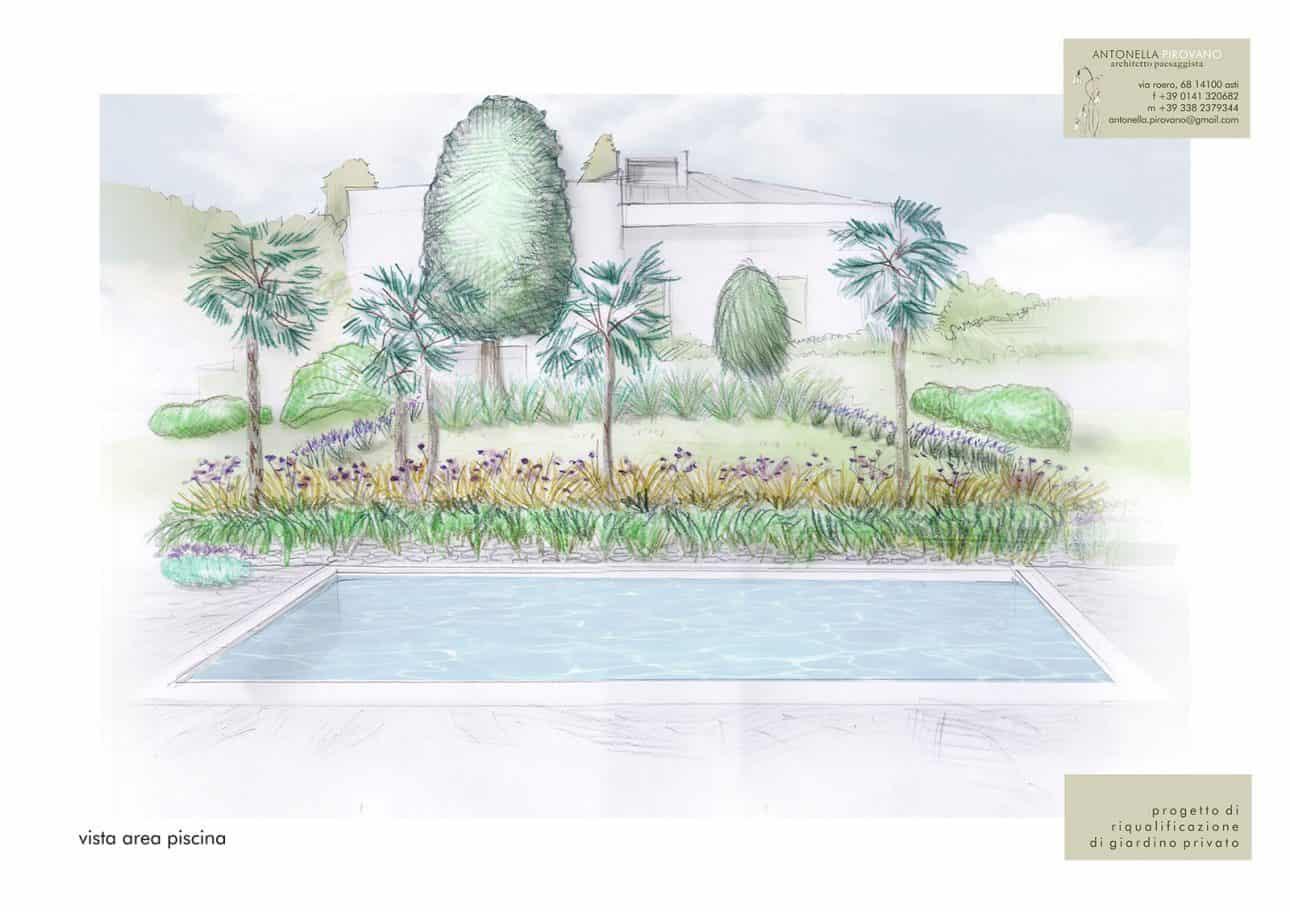 Giardino a terrazzamenti